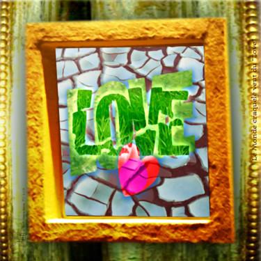 """Cracked LOVE - Le Monde craquelé veut du """"Love"""""""